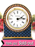 【30日間保証】<ウェッジウッド>「MILLENNIUM EXPERIENCE」♪ミレニアムコレクションの美しい陶器の置時計