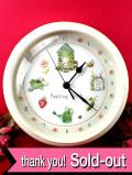 【30日間保証付】「Potting Shed」♪硬い樹脂とアイアン製の大きな壁掛け時計