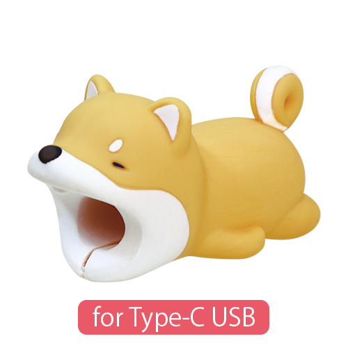 CABLE BITE for Type-C USB Shiba Inu ケーブルバイト フォータイプシーUSB シバイヌ