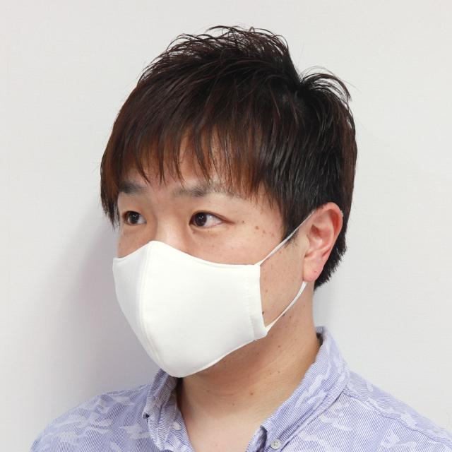布マスク L オフホワイト