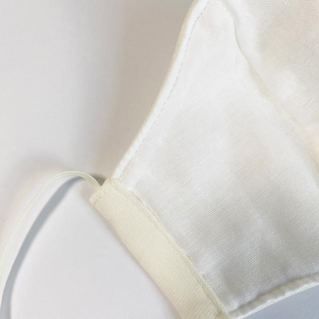 国産布マスク M オフホワイト
