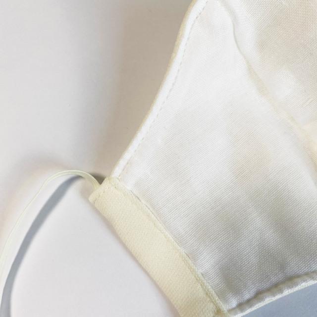 国産布マスク XS クリーム