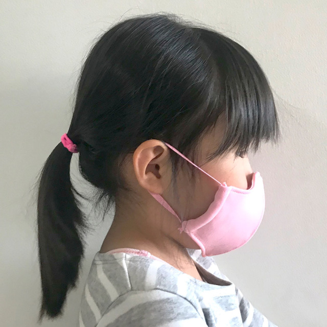 国産布マスク XS ピンク