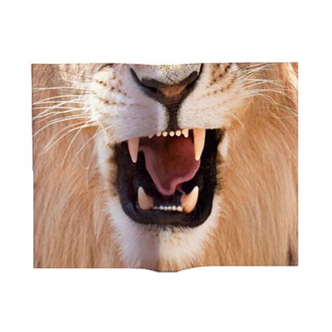 アニマルマスクブックカバー Lion