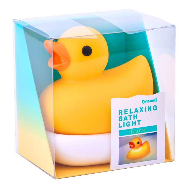 RELAXING BATH LIGHT -Duck- Yellow
