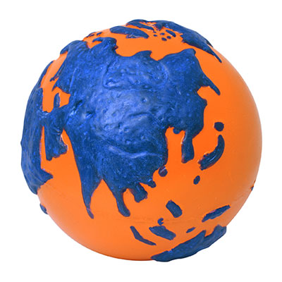 Earth Squeeze Ball  ORANGE