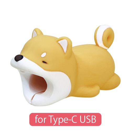 CABLE BITE for Type-C USB Shiba Inu ケーブルバイト フォータイプシーUSB シバイヌ