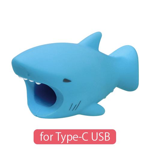CABLE BITE for Type-C USB Shark ケーブルバイト フォータイプシーUSB サメ