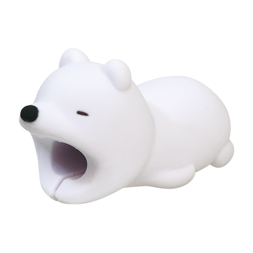 CABLE BITE for Type-C USB Polar Bear ケーブルバイト フォータイプシーUSB シロクマ