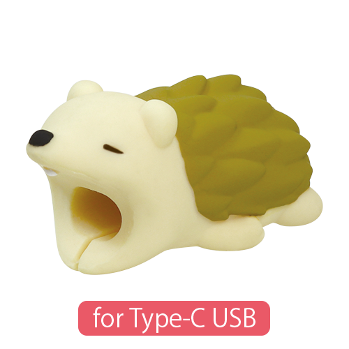 CABLE BITE for Type-C USB Hedgehog ケーブルバイト フォータイプシーUSB ハリネズミ