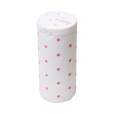 Pocket Ashtray Graphic Dot WHITE