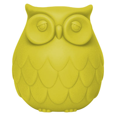 OWL NIGHT LIGHT イエロー