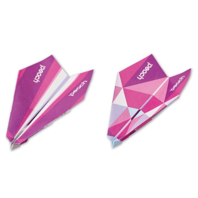 【10月下旬発売予定】HAPPY ORIGAMI AIRPLANE Fly Peach ハッピー オリガミ エアプレーン フライ ピーチ