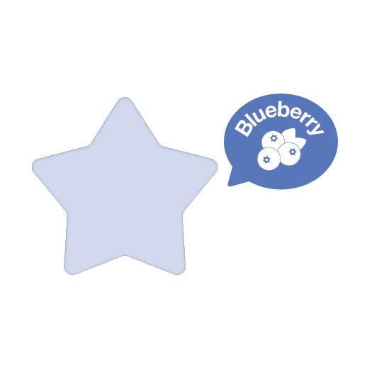 Rainbomb Star Blueberry (Purple)