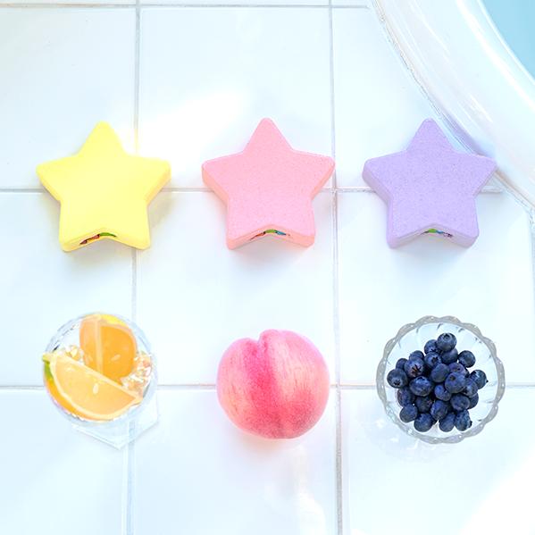 バスグッズ rainbomb star