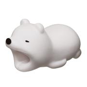 CABLE BITE Polar Bear ケーブルバイト シロクマ 【ネコポス可】