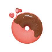 ドーナツイヤホン ストロベリーチョコレート