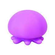 RELAXING BATH LIGHT -Jellyfish- Violet