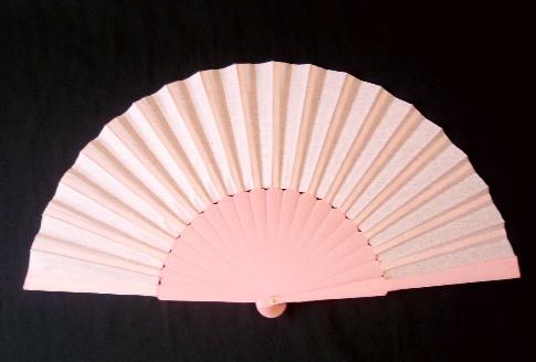 アバニコ・無地・片面張り・大(31.5cm)・薄ピンク