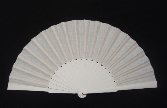 アバニコ・無地・片面張り・大(31.5cm)・白