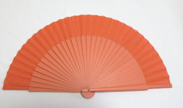 フラメンコ・アバニコ・無地・片面張り・小サイズ・オレンジ(23cm)