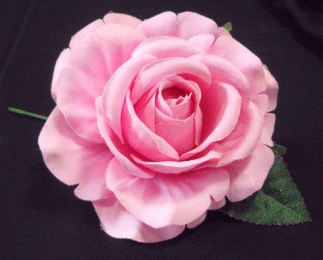 フラメンコ用・花・造花・ピンク・直径13cm