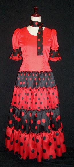 子供用フラメンコ衣装