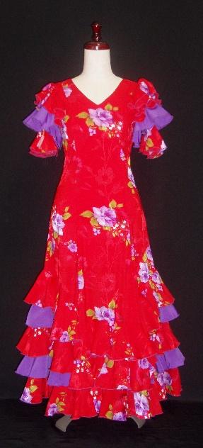 子供フラメンコドレス