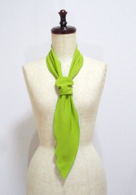●イージーオーダー● パニュエロ大 無地 ボウタイ スカーフ 約138×12.5