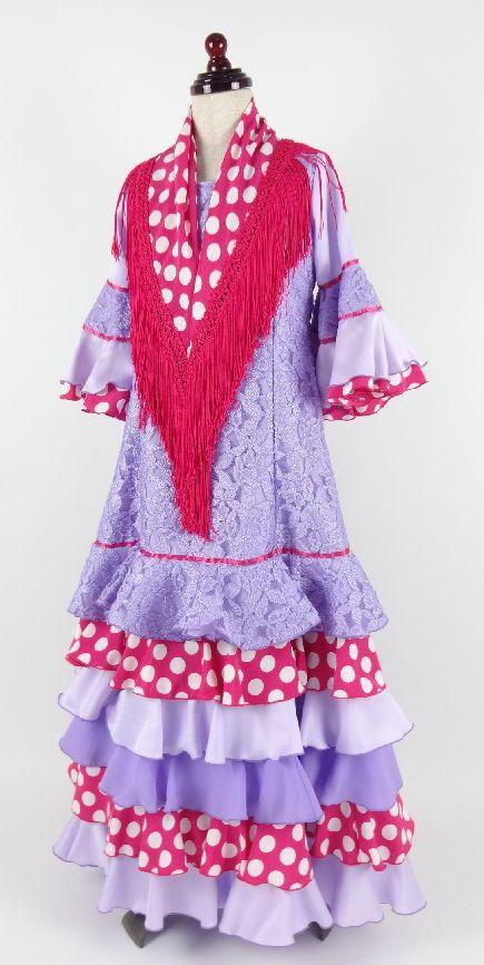 フラメンコ子供衣装レンタル