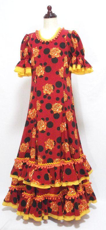 フラメンコ子供用衣装レンタル