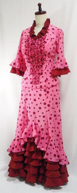 フラメンコ衣装リフォーム12