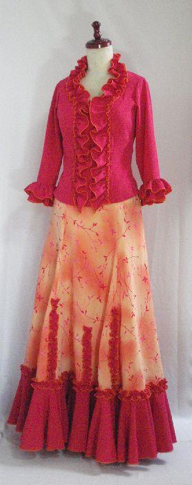 フラメンコ衣装・リフォーム
