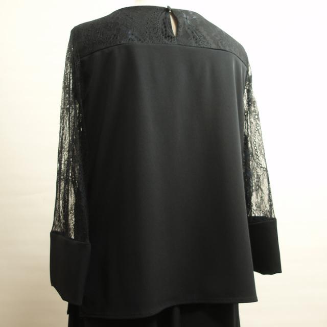 557aa90507814 オーケストラ衣装、伴奏衣装、結婚式などに便利なセットアップパンツドレス 紺 C2683BM