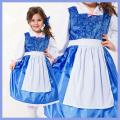 コスチューム★ハロウィン/S/M/L/XL★Traditional Princess 11380 Beauty Day Dress なりきり町娘ベル! 美女と野獣 町娘ベルみたいなワンピースドレス