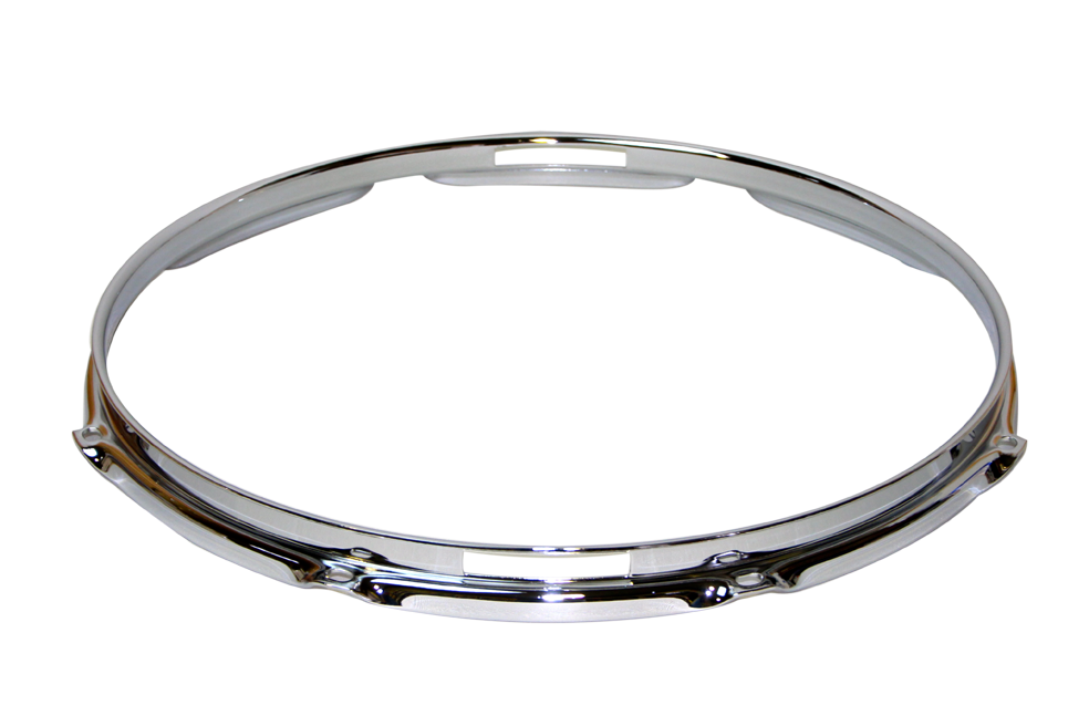 "フープ(クローム)Hoop 2.3mmx12""x6 Resonant 231206Scr"