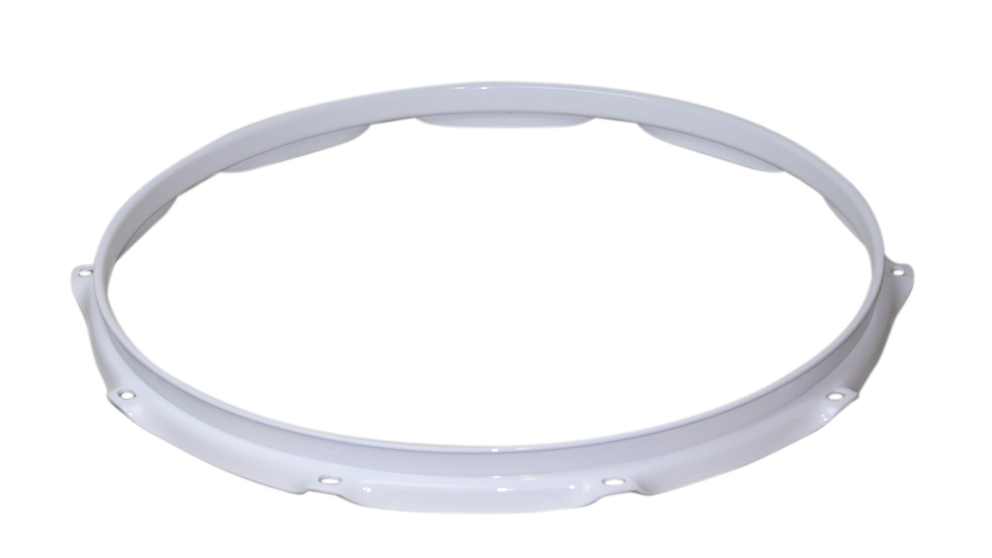 """フープ(ホワイト)Hoop 2.3mmx16""""x8 Batter/Resonant 231608wh"""