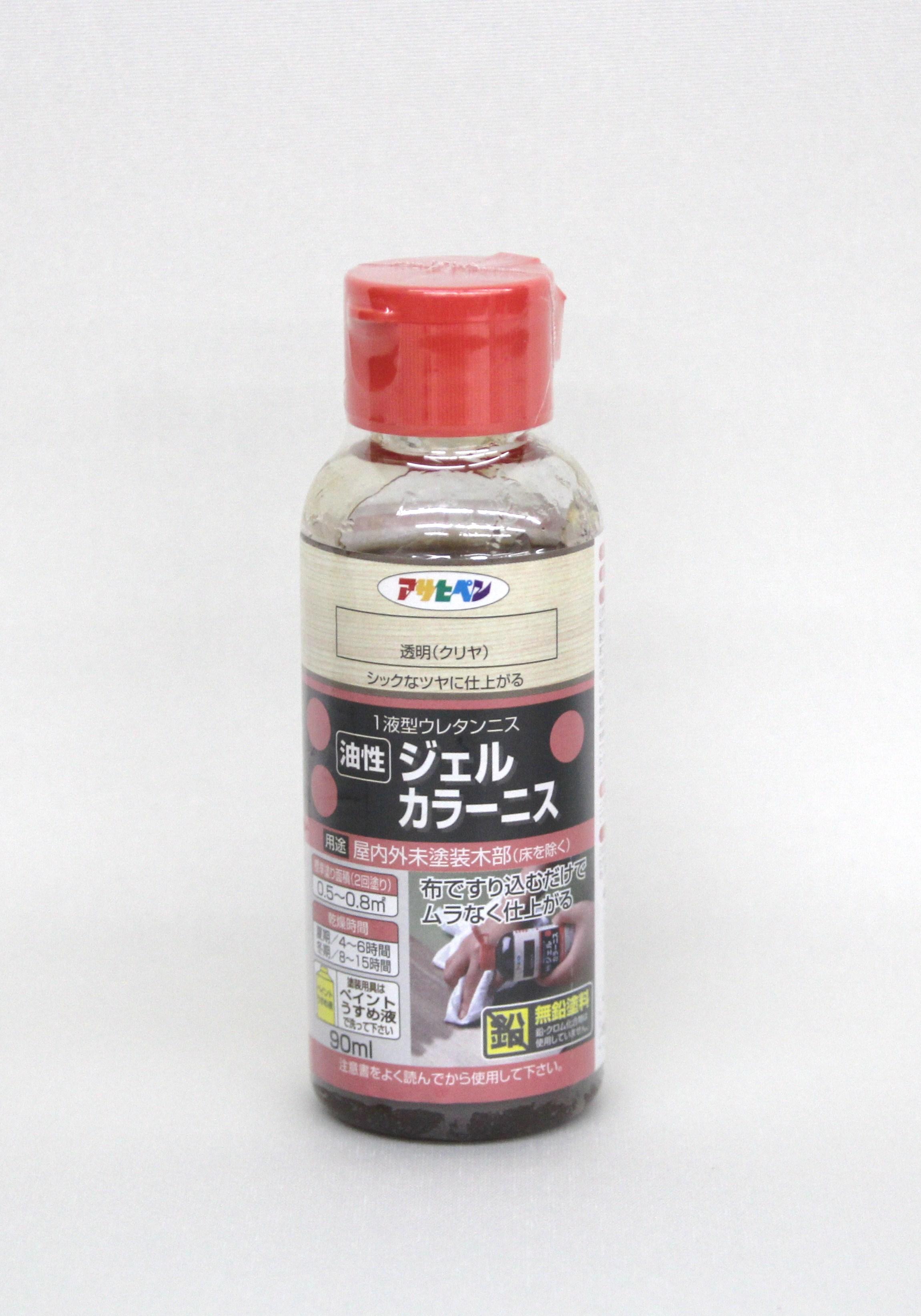 ジェルカラーニス(油性) 8色 アサヒペン