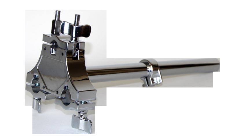 ダブルタムホルダーブラケット(クローム)Tom Mount DCH202cr