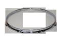 """トリプルフランジフープ(クローム)Hoop 1.6mmx12""""x6 Resonant 161206Scr"""
