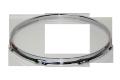 """トリプルフランジフープ(クローム)Hoop 1.6mmx18""""x8 Batter 161808cr"""