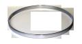 """シングルフランジフープ(クローム)Hoop 4.5mm x19mm x15"""" Batter 451915cr"""