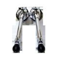 バスドラムスパー(ブラス)2本セット(左右) SPUR-BDS001br