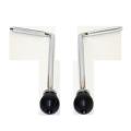 バスドラムスパー(ブラス)2本セット(左右) SPUR-BDS002-105355br