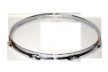 """トリプルフランジブラスフープ(クローム)Hoop 2.5mmx13""""x8 Resonant 251308Scr"""