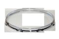 """スティックチョッパーフープ(クローム)Hoop 2.3mmx14""""x10 Resonant 231410Scr"""