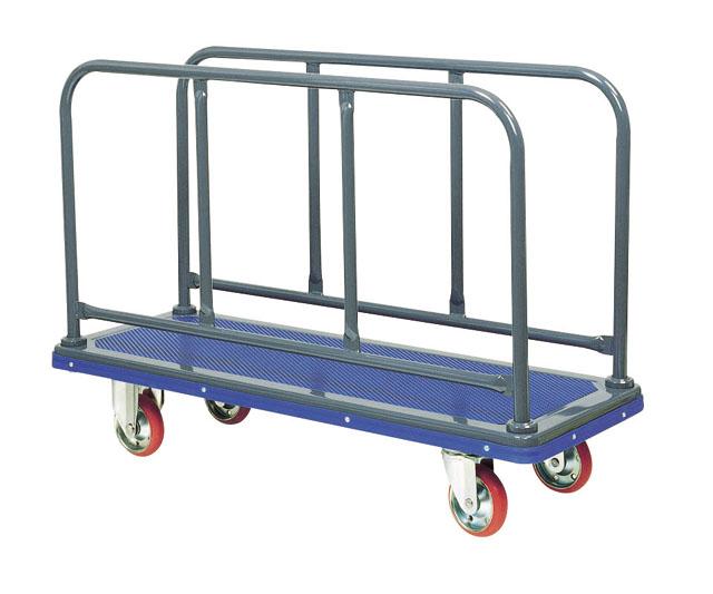 スチール長尺物運搬台車(ロング)NS-410 荷台寸法W1,225xD475