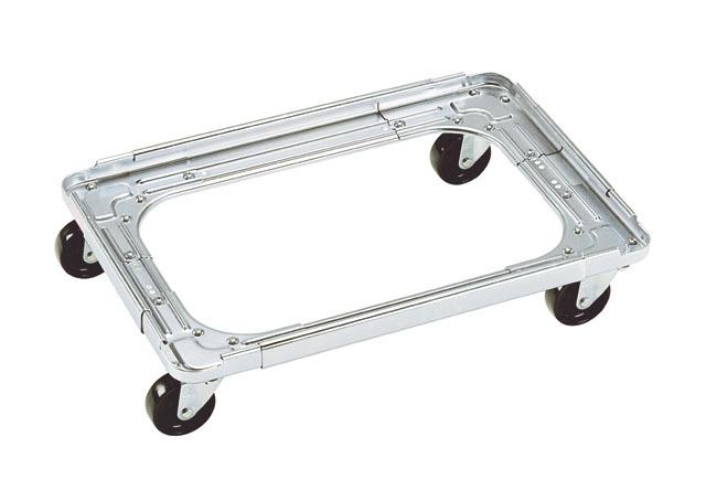 スチールフリーサイズドーリー台車・キャリーメイトNO-103(310~410)(510~610)
