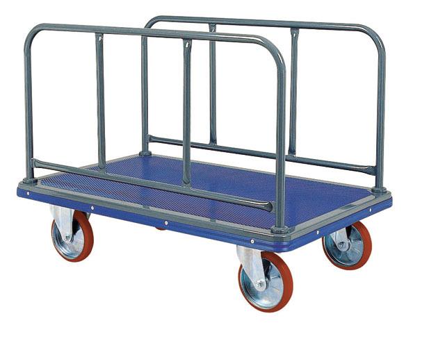 スチール長尺物運搬台車(特大)NS-510 荷台寸法W1,225xD775