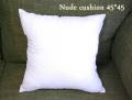 130811国内加工綿がたっぷりで厚みしっかり ヌードクッション(クッション中身)45×45cm